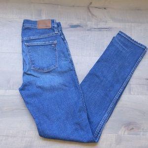 Madewell jeans slim straight 27 tall